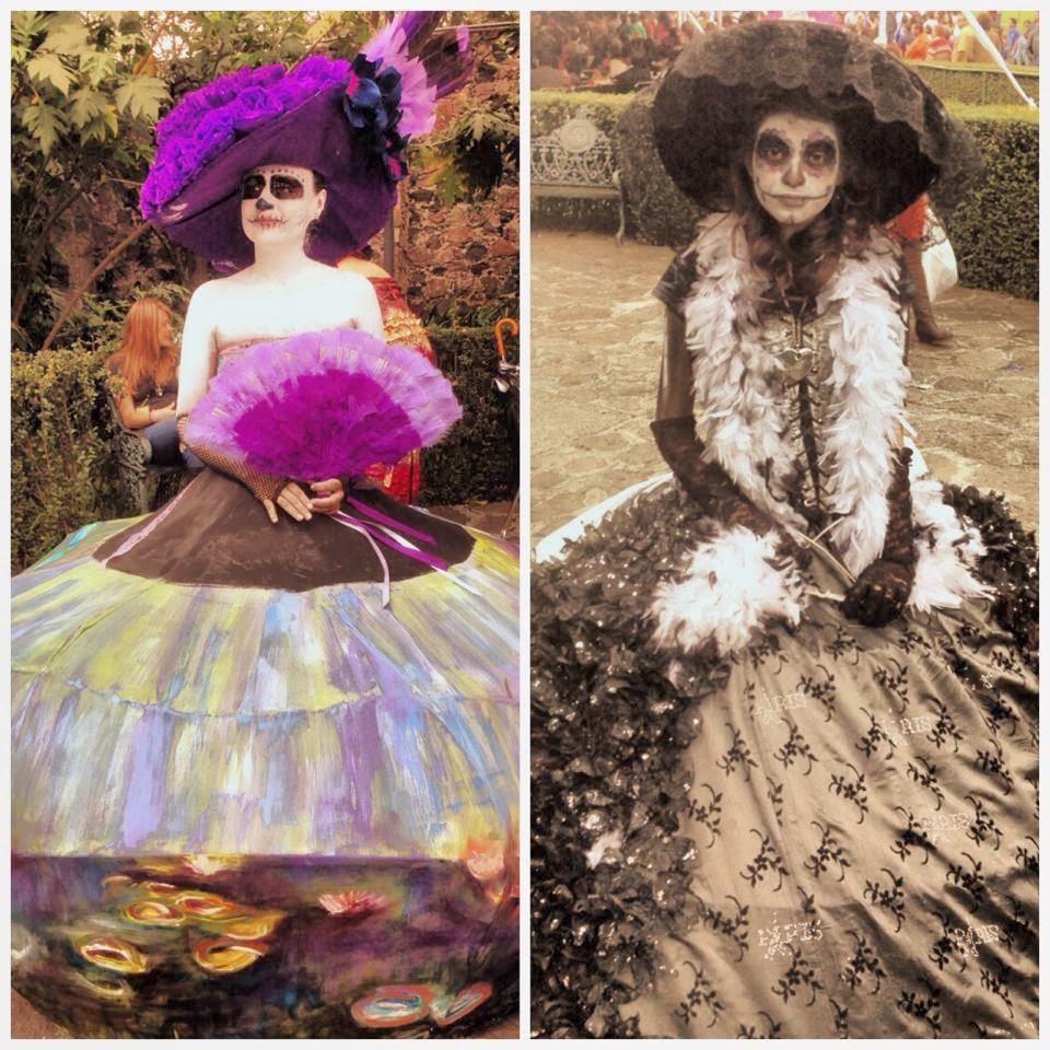 Concurso de disfraz de Catrina